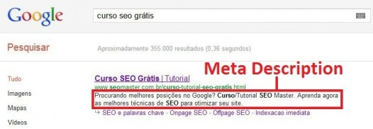 Meta Description e o seu real valor