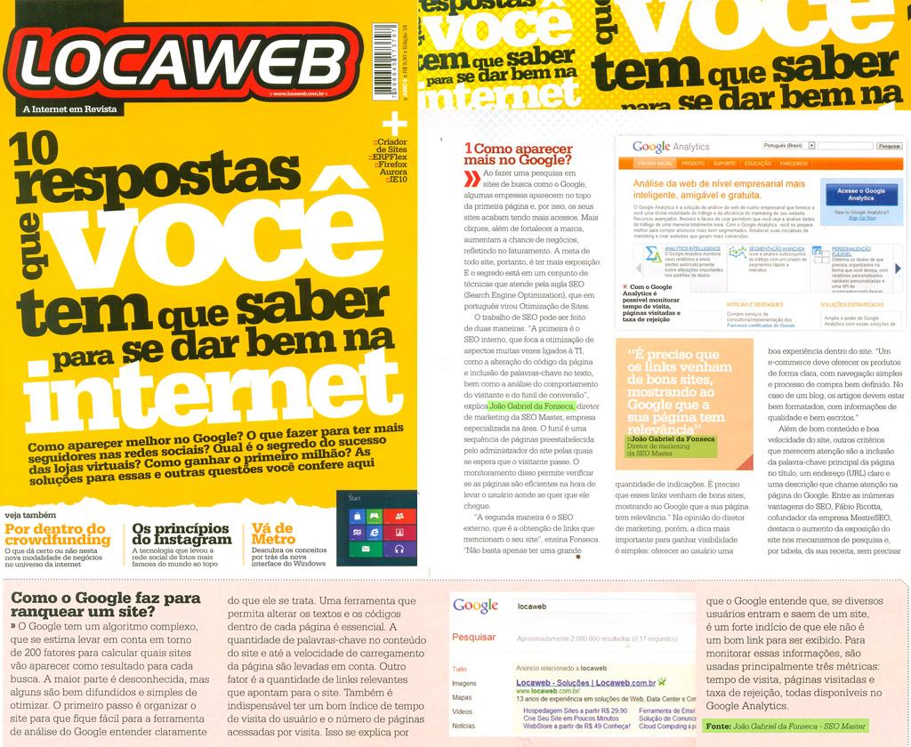 Revista Locaweb: Entrevista SEO Master