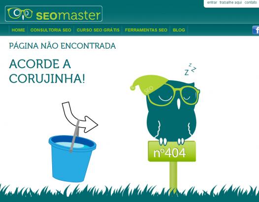 Boas páginas de erro 404