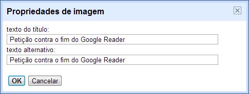 Propriedades de URL no Blogger