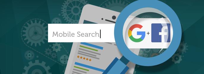 Facebook e Google juntos nas buscas mobile