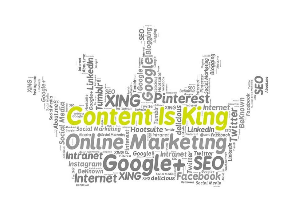 Content is King - Conteúdo é rei